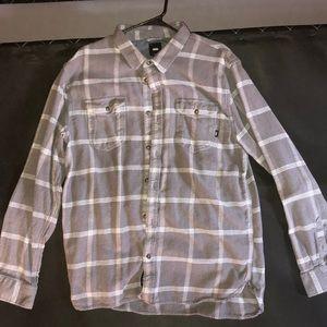 Men's heavy duty flannel shirt